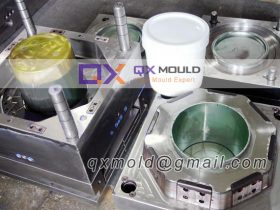 round bucket mould